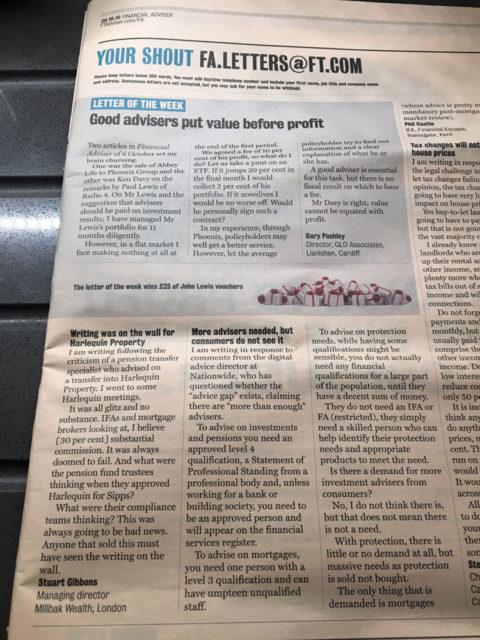 Millbak wealth – Financial Times